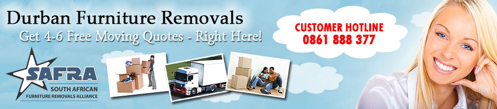 Furniture Removals Durban | Get 4-6 Moving Quotes